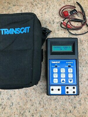 Transcat 5102rtc Temperature Calibrator