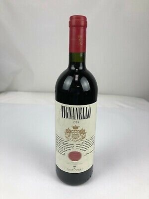150 ) MARCHESI ANTINORI Tignanello 1998  VINO DA TAVOLA 0,75L TOSKANA Italien