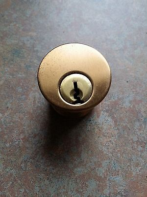 Locksmith Mortise Cylinder 1 18 Made Usa Bar Stock Us10 Dull Bronze Krandom