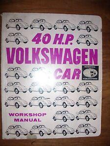 Volkswagen Beetle Workshop Manual 40 HP Car Crafers Adelaide Hills Preview