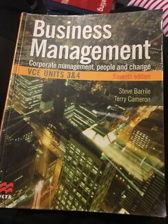 Business Management. Corporate management, people and change