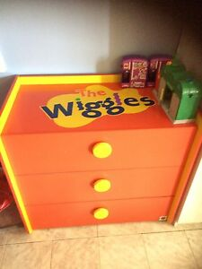 The Wiggles chest of drawers tallboy Fairfield Fairfield Area Preview