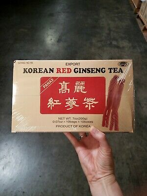 Korean Red Ginseng Tea 0.07oz x 100 count ()