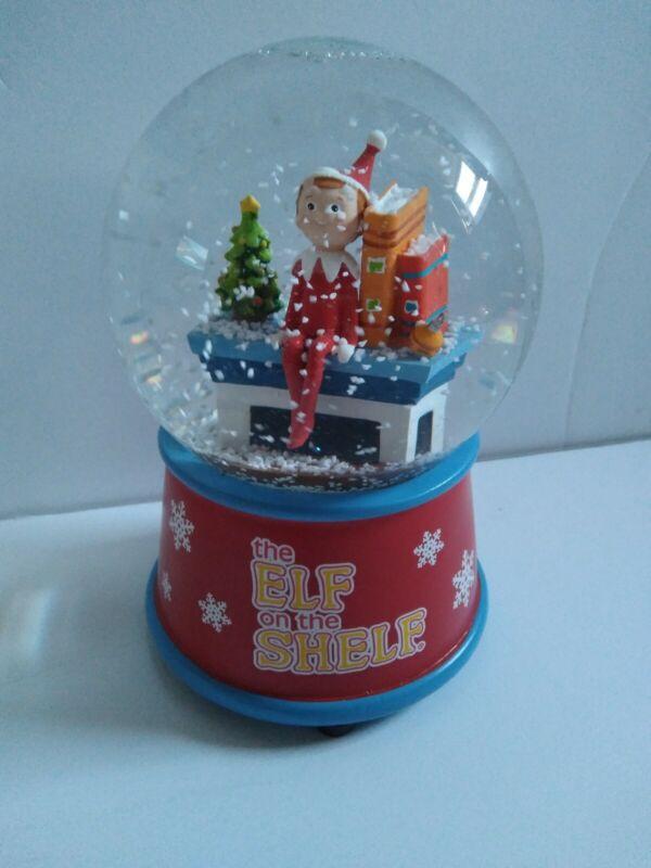 Elf On the Shelf Musical Snowglobe FANTASTIC CONDITION