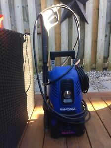 Simoniz 1600psi pressure washer