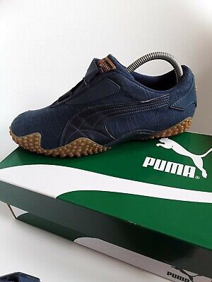 Puma Mostro men's trainers  Size 7,5 stunning rare navy jeans