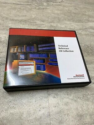 Rockwell Automation Technical Reference Cd Collection 9392-kbcdrsene Cdrsene
