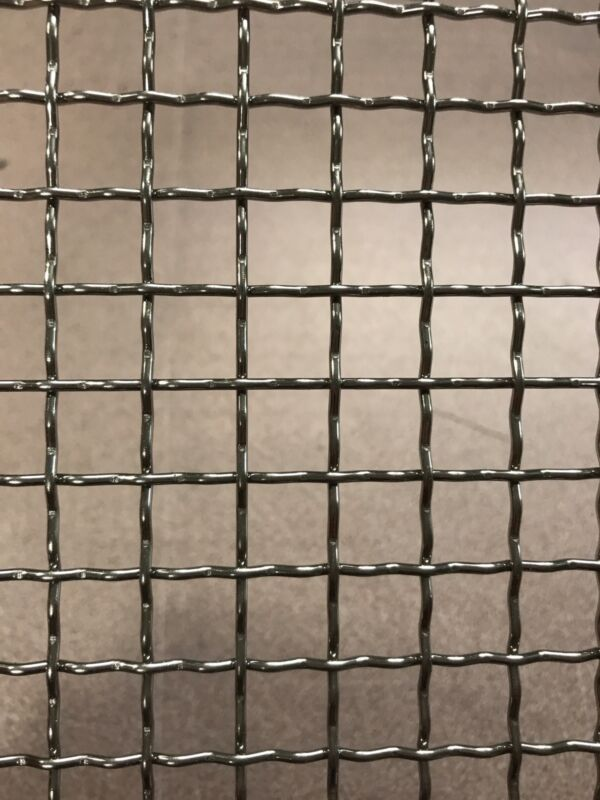 """Stainless Steel Crimped 304 Mesh #2 .063  Cloth Screen 6/""""x48"""""""