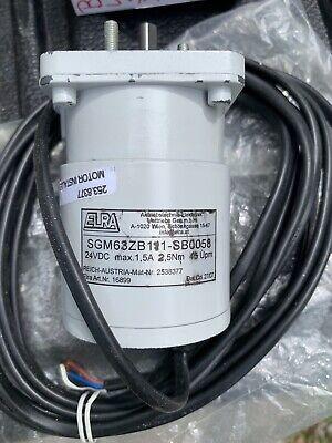 Elra Motor Gearbox Sgm63zb1 1-sb0058