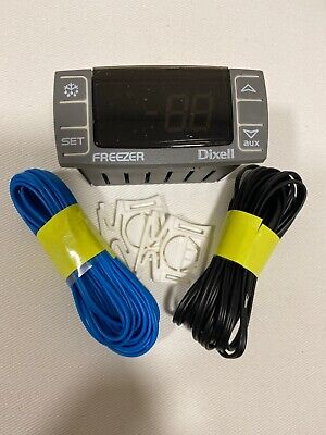 Dixell Temperature Controller Xr06cx-4n1f1 With Temperature Probes For Freezers