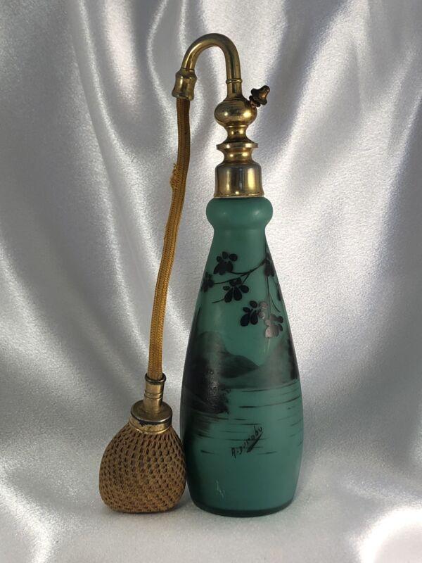 Antique French (Art Nouveau 1890-1920) A. Ducobu Parfum Atomizer. Gorgeous.