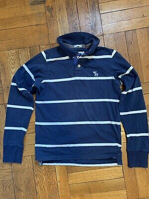 Abercrombie & Fitch Long Sleeve Polo | Muscle Fit
