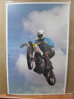 Vintage Moto Dirt Bike motorcycle Flying Cycle 1972 Motocross in#G3716