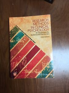 Research methods in clinical psych - 3rd ed. (Barker, 2016)