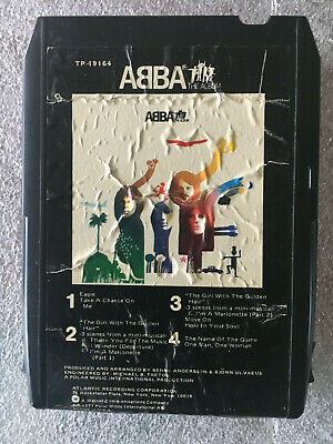 ABBA The Album 8 Track Tape 1977, Atlantic