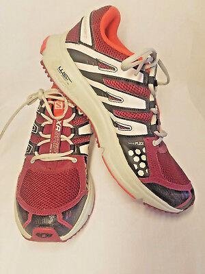 Xr Shift (SALOMON XR SHIFT Womens Trail Running Shoes Size 9.5 Hiking Shoes Purple & Pink)
