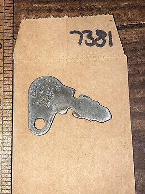 Old Case John Deere Massey Ferguson Oem Ignition Key 83357 Tractor Equip -7381