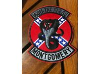 USAF 417th TAC Fighter Training Sq Bandits Patch Hook /& Sew Repro New A262