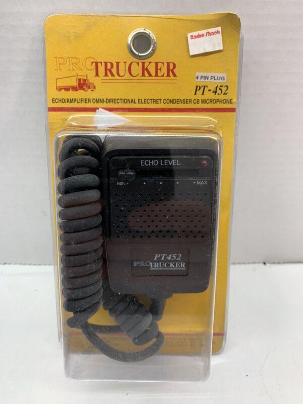 PRO TRUCKER 4-PIN PT-452 ECHO/AMPLIFIER CB MICROPHONE