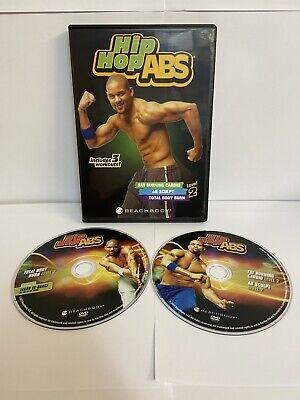 EXERCISE FITNESS DVD SHAUN T BEACHBODY HIP HOP ABS LEVEL 2 PRESENT GYM 2 DVD'S