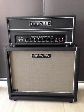 REEVES CUSTOM 50PS HEAD & MATCHING 2x12 CABINET Dianella Stirling Area Preview