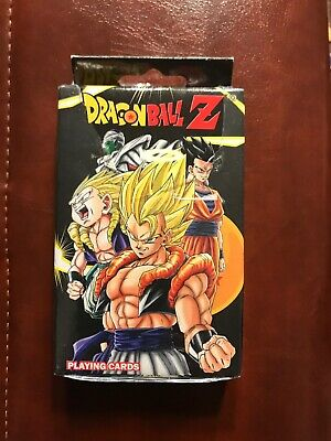 *NEW* Dragon Ball Z Playing Cards by GE Animation. Factory Sealed!