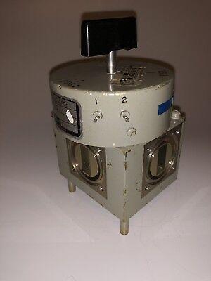 Microwave Waveguide Switch Manual Electric Ramcor Ram431 Fsn 5985-845-4606