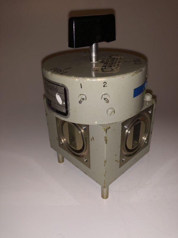 MICROWAVE WAVEGUIDE SWITCH MANUAL / Electric RAMCOR RAM431 FSN 5985-845-4606