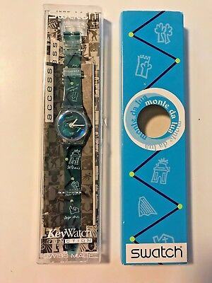 1999 VINTAGE SWATCH Access MONTE DA LUASKK113 new in box with special packaging