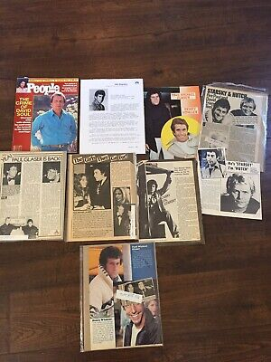 Lot Of PAUL MICHAEL GLASER & DAVID SOUL Clippings Starsky & Hutch '83 People