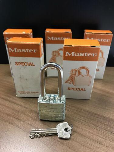 MASTER LOCK 105LK KDPadlock...New Old Stock! Lot of 5