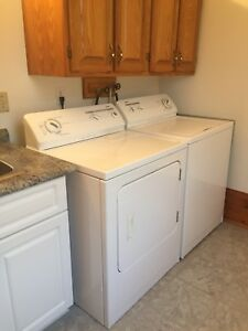 Kenmore Washer + Dryer