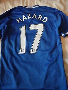 Chelsea 2013-14 Hazard 17  football Shirt