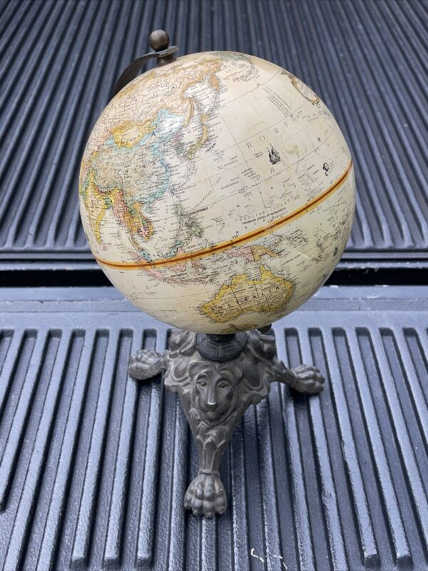 Vtg Replogle World Classic Series 9 Inch Diameter Map Globe