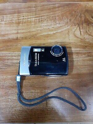 Olympus Stylus 850 SW 8.0MP Digital Camera - Black