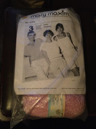 Mary Maxim Sweater Kit