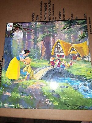 Ceaco Disney Snow White A Sweet Goodbye Puzzle 550 Piece Made in USA