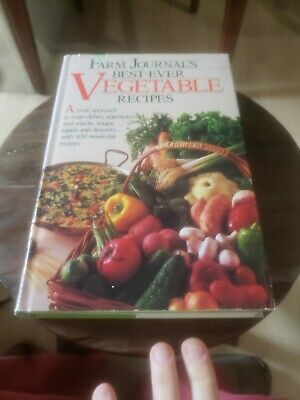 Farm Journal's Best Ever Vegetable Recipes 1984 HC/DJ Vintage Cookbook (Best Vegetable Recipes Ever)