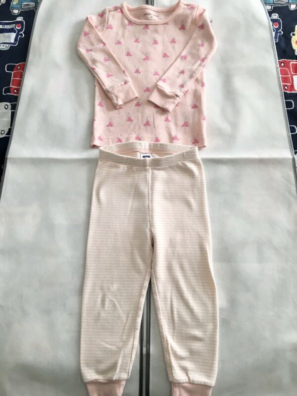 EUC Janie and Jack Girls Pajamas 2T