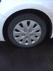 205/55R16 - Set of 4 Michelin X-Ice 3 winter tires and rims