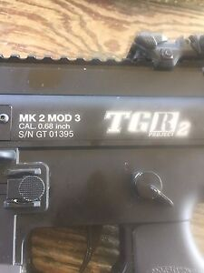 Mag fed paintball marker TGR2
