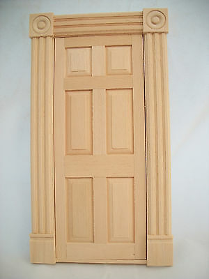 Door - Victorian Interior T7516 dollhouse miniatures 1/12 scale wooden