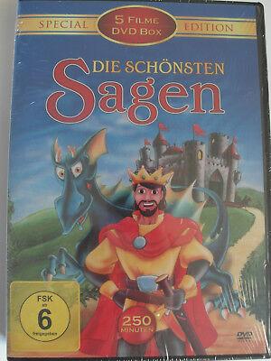 Die schönste Sagen 5 Filme Special Edition - Herkules, Robin Hood, Monte Christo (Robin Die Superhelden)