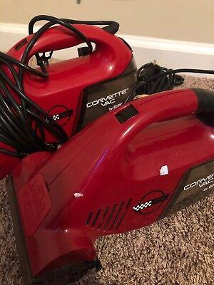 Eureka Corvette Vac Handheld Vacuum Red Lot Of 2 for sale  Asheville