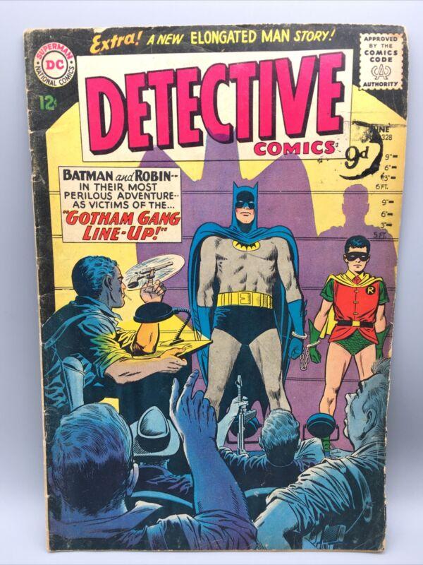 1964 Detective Comics No 328 Silver Age Batman & Robin DC