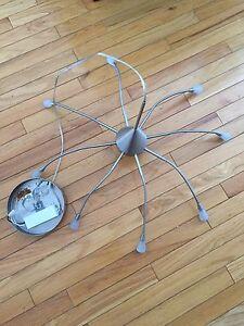 "Modern ""Spider"" Hanging Ceiling Lamp"