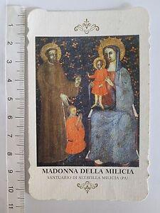 SANTINO-HOLY-CARD-MADONNA-DELLA-MILICIA-1980