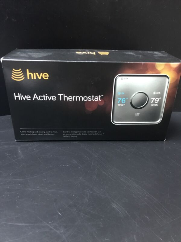 HIVE ACTIVE THERMOSTAT  COMPLETE IN OPEN BOX