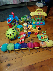 Baby Toys x 12 Belmont Lake Macquarie Area Preview