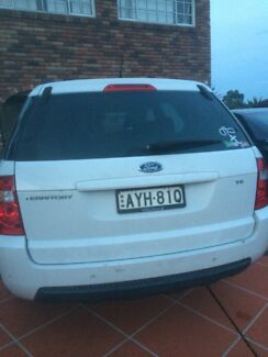Ford territory white tail gate Cordeaux Heights Wollongong Area Preview